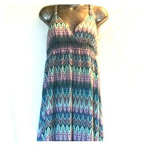 Multicolored maxi sundress!